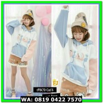 (Sweater) ABCD CATS BLUE