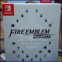 NINTENDO SWITCH FIRE EMBLEM WARRIORS LIMITED EDITION