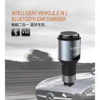 Ldnio Cm 20 Mono Bluetooth Headset Car Charger