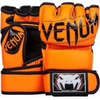 VENUM UNDISPUTED 2.0 MMA GLOVES SKINTEX LEATHER NEO ORANGE SARUNG TINJU MMA BODY COMBAT
