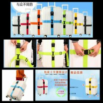 Luggage Belt Strap Tali Pengaman Koper Silang Heavy Duty Cross