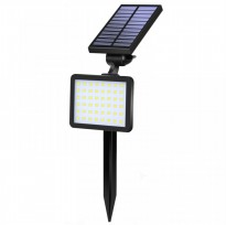 SL-50C - 960 Lumens Waterproof Solar 48 LED Outdoor Garden Spotlight