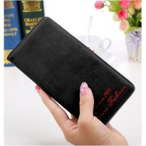 bdo057 dompet wanita basic panjang Korean purse retro lady long wallet