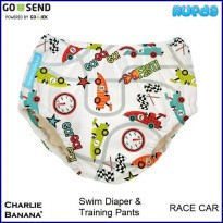 (Race Car) Charlie Banana Swim Diaper & Training Pants Celana Renang