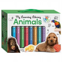 [HelloPandaBooks] My Learning Library Animals includes 8 Board Books