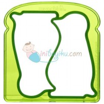Munchkin Silly Sandwich Cutters Penguin Color Green Age 1YR+