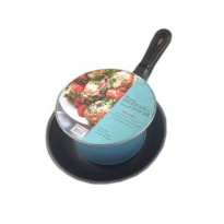 [Maspion] Pastela Set Panci Susu 14cm + Frypan 20cm - Multi Colour