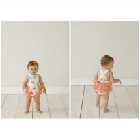 Jelly The Pug Opal Ruffle Romper - Baby&Kids