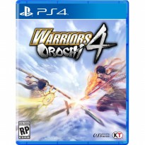 PS4 Warriors Orochi 4 Reg 3 Asia