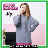 (Sweater) SMOOTH CUBE GREY