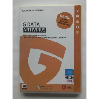 Antivirus Windows Work Station - G Data Antivirus For 1PC/2Year Update w/ BankGuard, Offline Update