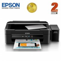 (Promo) Epson Printer Multifungsi L380 - Hitam (Print, Scan, Copy)