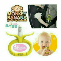 Ange Monkey Banana Teether / gigitan bayi