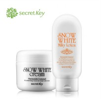 [Secret key] Snow White Cream 50g&Snow White milky lotion 120g