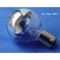 Bola lampu operasi 24V 25W/ Shadowless operating lamp bulb ( Spare part bulb lampu operasi 24V 25W )