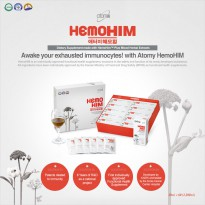 ATOMY HemoHIM Dietary Supplement Food Immunity Herbal Extract 20ml*60EA 1200ml