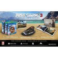 [Siap Kirim] PS4 Just Cause 3 Collector's Edition
