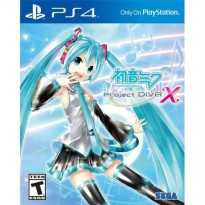 LIMITED PS4 Hatsune Miku: Project DIVA X With Bonus Pouch