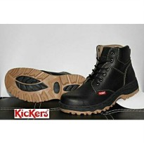 Promo Termurah kickers safety boots elf black INDG:006359