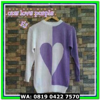 (Sweater) ONE LOVE PURPLE