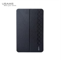 Usams Starry Sky Leather Case Series for Samsung Galaxy Tab 4 8.0 T330 - Hitam