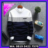 (Diskon) ZICO SWEATER NAVY