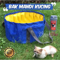 Bak Mandi Kucing / Anjing Portable Cat Pool Bathtub