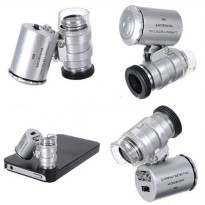 Loupe 60x Microscope with LED