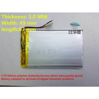[globalbuy] ()Polymer lithium ion battery 3.7 V, 304967 can be customized wholesale CE FCC/5280527