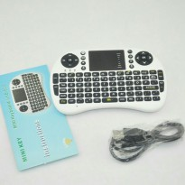 Mini Wireless Keyboard Mouse touchpad UKB500 92 keys QWERTY with usb Bluetooth Reciever
