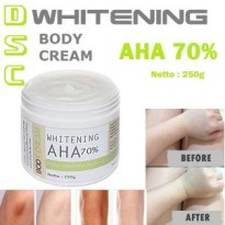DSC Whitening AHA Body Cream