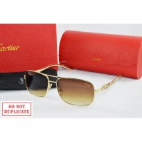 Kacamata Sunglass Cartier 8103 Gold