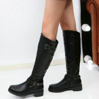 Women Boot From Synthetic Leather