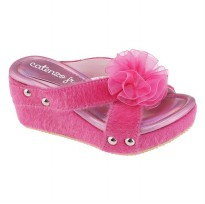 Sandal wedges anak Catenzo Jr CDK 003 Pink
