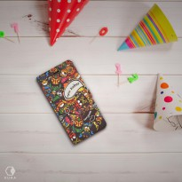 Flip Cover Printing Doodle ART - Small
