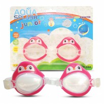Aqua Splash Junior Set Of 2 Kacamata Renang Anak Berkarakter - Random