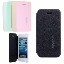 Flip Cover iPhone 5 5S Kalaideng Leather Case Iceland Series SARUNG KULIT - ORIGINAL