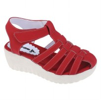 Sandal wedges anak Catenzo Jr CAB 205 Merah