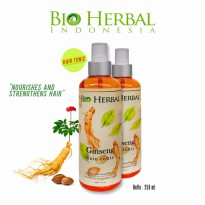 Bio Herbal Hair Tonic/ Bio Herbal Ginseng Hair Tonic BPOM