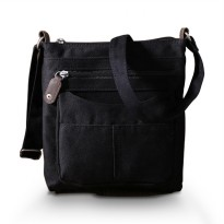 US Brand! Ori - Black Denim Slingbag