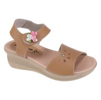 Sandal wedges anak Catenzo Jr CKK 062 Cream