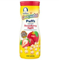 Gerber Graduates Puffs Rasa Strawberry Apple