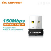 [globalbuy] 10pcs/lot Comfast Mini USB WiFi Adapter N 802.11 b/g/n Wi-Fi Dongle 150Mbps wi/4951349