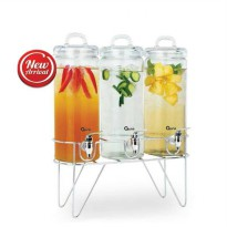 [OXONE] Triple Decanter With Rack OX-338 / OX 338