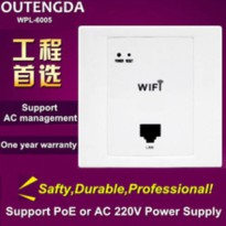 [globalbuy] In Wall Access Point is designed as 300Mbps Internet Wireless WiFi ap for Hote/2479645