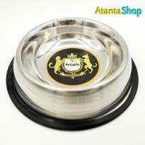 Petopia - Stainless Anti Skid Feeding Bowl 0.25L tempat makan bowl20