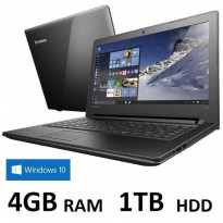 Lenovo Ideapad 110 Win10 - Intel N3060 - 4GB - 1TB - 14' - Windows 10