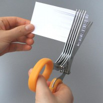 400,000 were sold in Japan is hit. Privacy protection document shredder / crusher scissors A361-1