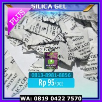 (Murah) Silica Gel isi 100 pcs Alami natural