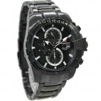 Chronoforce 5276MB Jam Tangan Pria Stainless Steel Hitam Jarum Putih